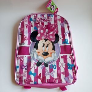 Disney Minnie Mouse Girls' Large Backpack